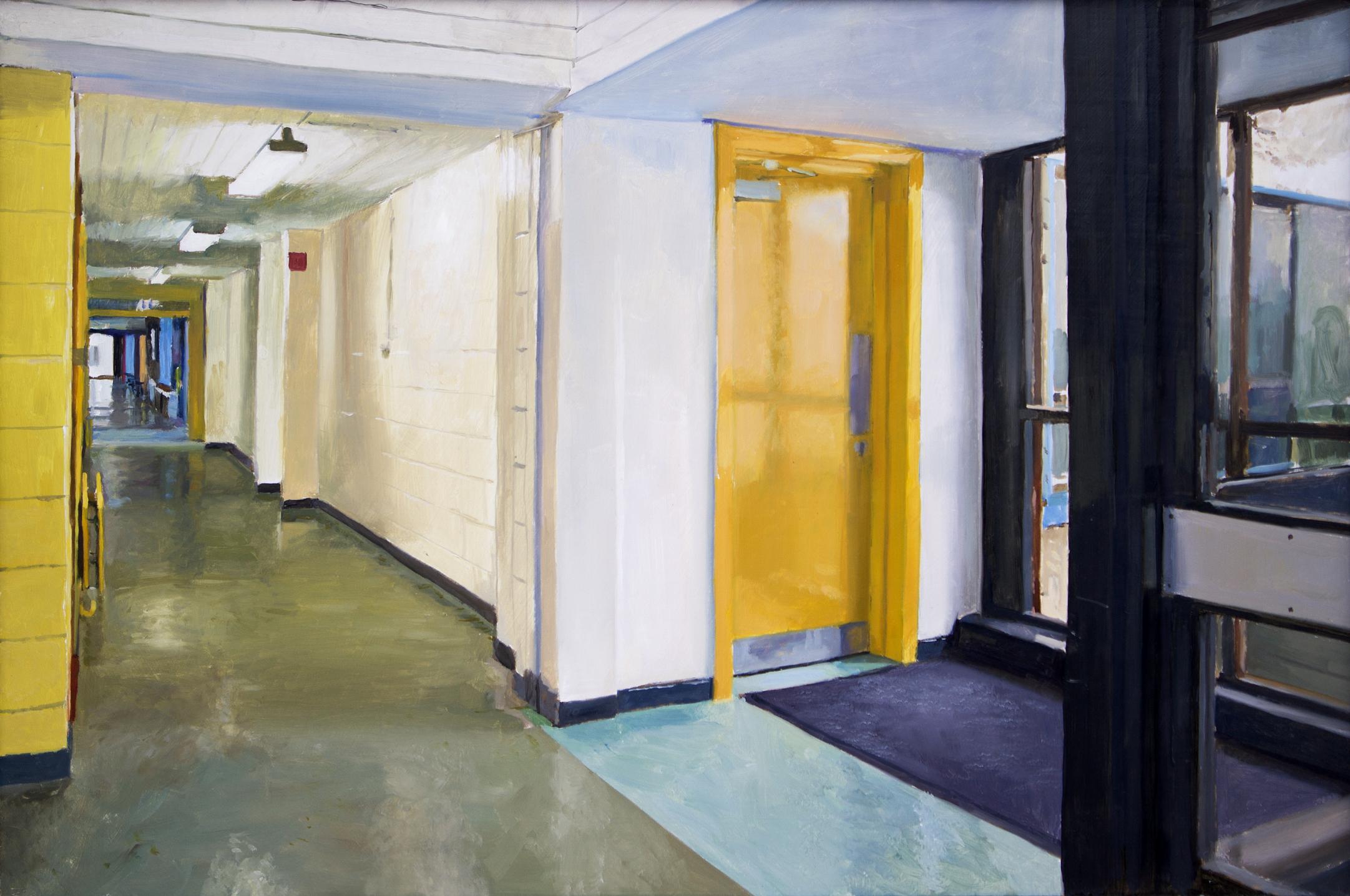 School Corridor Blaise Smith Rha Blaise Smith C 2019